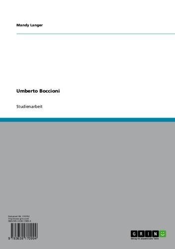 Umberto Boccioni und der Futurismus (German Edition)