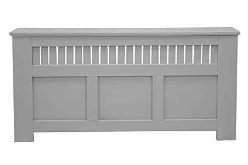 Jack Stonehouse Oak Maple White Grey Green Painted Modern MDF Radiator Cover Cabinet with Panel Grill, Extra Large, Engineered Wood