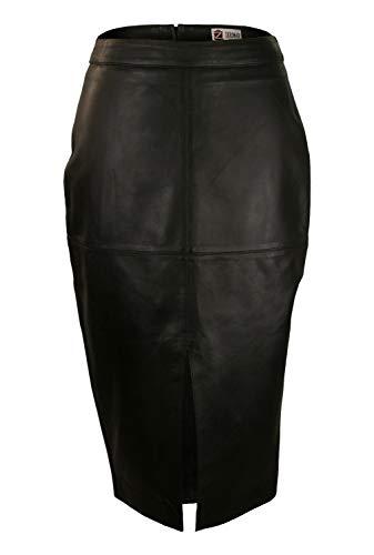 Zerimar Falda de Piel Mujer   Falda Mujer   Falda Larga Mujer   Falda Mujer Cuero Elegante   Falda Piel Larga   Falda Mujer Casual