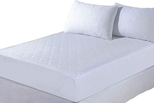Anti-allergie behandelde gewatteerde matras bed beschermhoes door CosyWinks® super king