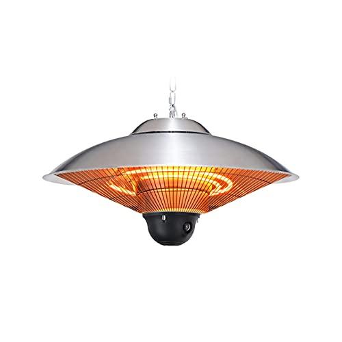 thlabe Calefactor por Infrarrojos, Estufa para Exteriores, 2500 W, IP44, Calor infrarrojo, Fácil de Usar