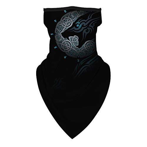 Renile Face cover Schlauchschal Unisex Protection Neck Scarf Kopfbedeckung für Staub im Freien...