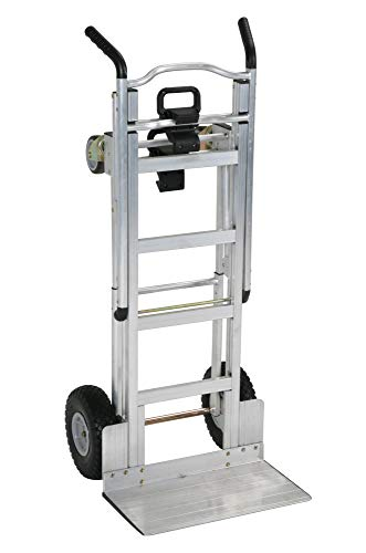 Cosco 3-in-1 Aluminum Hand Truck/Assisted Hand Truck/Cart w/ flat free wheels