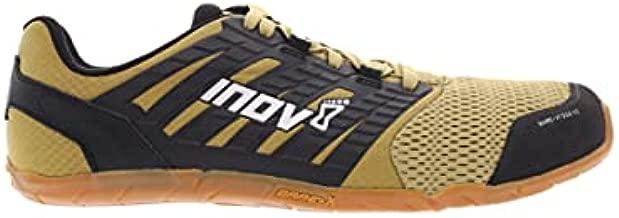 Inov-8 Mens's Bare XF 210 V2 – Minimalist Cross-Trainer & Running Shoes – Men's Barefoot Lifting Shoes - Sand/Black/Gum - 10