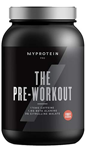 MyProtein Pro - The Pre-Workout - 30 Servings, Fruit Punch