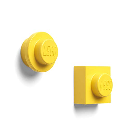 Room Copenhagen Set di magneti Lego, Giallo, Yellow, One Size