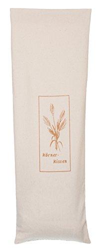 Brandsseller- cuscino riscaldante con grano e cereali, diverse varianti, colore beige