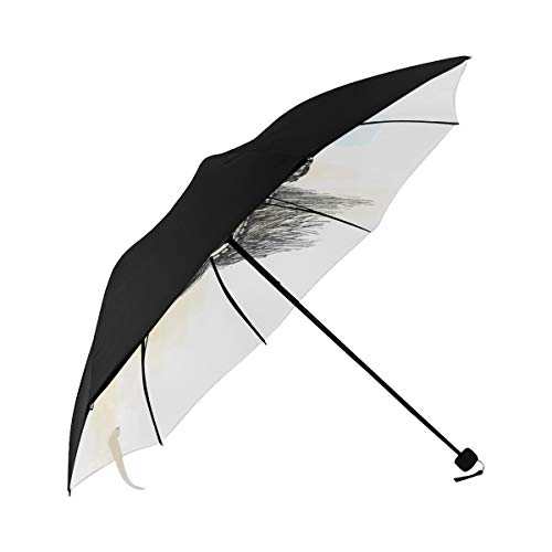 Auto Umbrella Compact Cute Small Camera Underside Printing Best Sun Umbrella Umbrella For Women Travel With 95 Uv Protection For Women Men Lady Girl