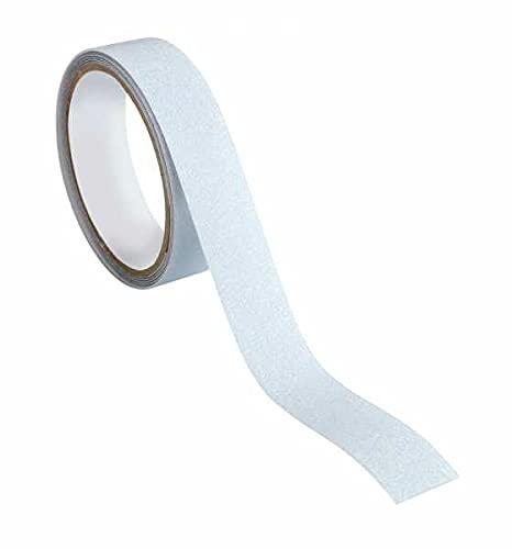 WENKO Anti-Rutschband Transparent - rutschfestes Klebeband, Kunststoff, 2.5 x 0.2 x 500 cm, Transparent