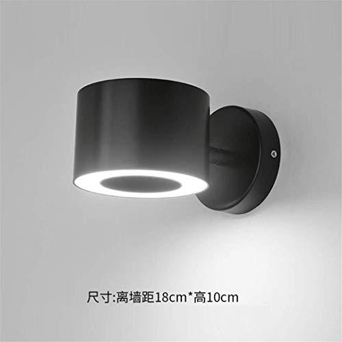 CC6 Plafondlamp Led Wandlamp Mode Modern Hotel Slaapkamer Woonkamer Creatieve Bedlamp met Schakelaar Lezen Zwarte Wandlamp