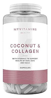 Coconut + Collagen (60 Capsules) - Myvitamins