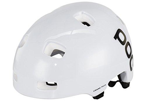 POC Crane Pure Casco MTB, Hombre, Blanco (Hidrogen White), XL-XXL