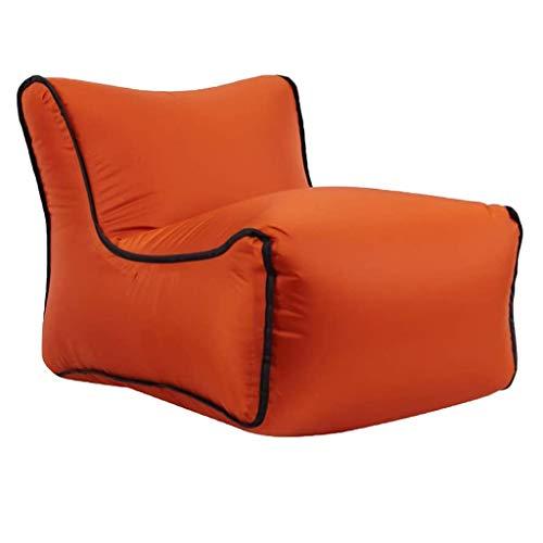 JJZXD Hogar Multifuncional Lazy cojín del sofá Individual Equipaje de Cubierta de Asiento Inflable portátil Frijol Presidente Bolsa (Color : C)