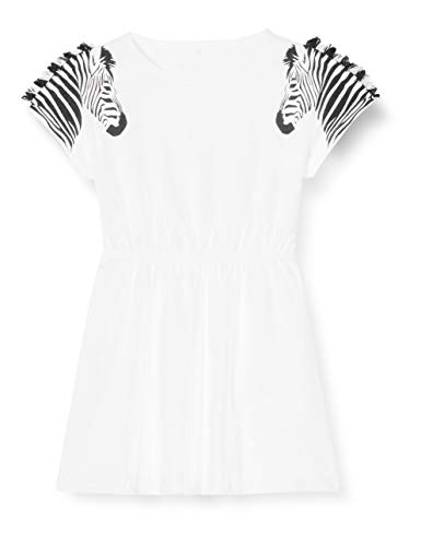 NAME IT Mädchen NMFJABALIS SS Tunic Tunika-Shirt, Bright White, 92