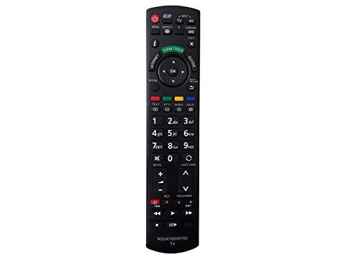 Ersatz Fernbedienung für Panasonic N2QAYB000752 Fernseher TV Remote Control / Neu