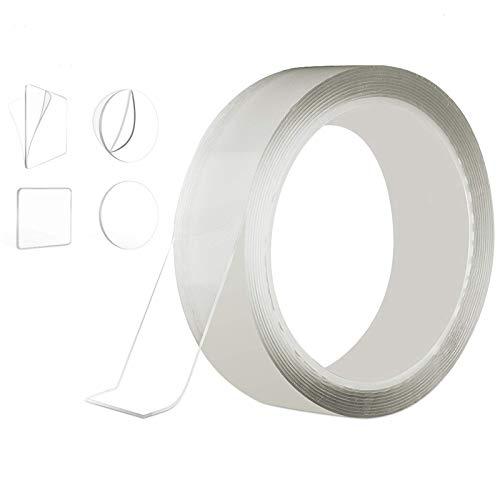 隙間テープ Atemto 防カビテープ 強力 補修テープ のり残らず 透明 アクリル 防水テープ キッチン 防油 防水 防カビ 汚れ防止 耐熱 台所 洗面台 浴槽まわり バスルーム (3*300cm)