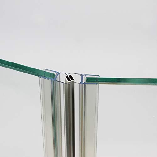 HEILER Magnetleistensatz für Rundduschen (1x45°, 1x 67,5°)