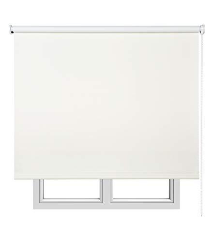Estores Basic, Estor opaco, Hueso, 140x180cm, estores opacos, estores para ventanas y puertas