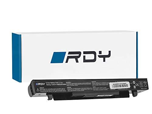 RDY Batería para ASUS F552L F552LA F552LAV F552LAV-SX738H F552LAV-SX758H F552LAV-SX764H F552LAV-SX827H F552LAV-SX865H F552LAV-SX909H (4400mAh 14.4V)