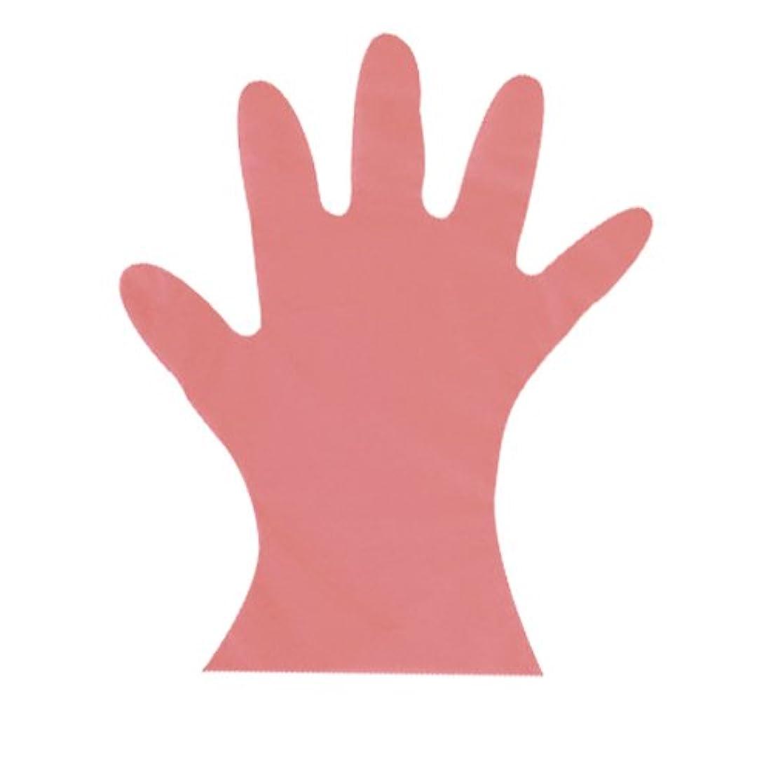 スリルミシン他の日カラーマイジャストグローブ #28 化粧箱(5本絞り)200枚入 ピンク M 27μ