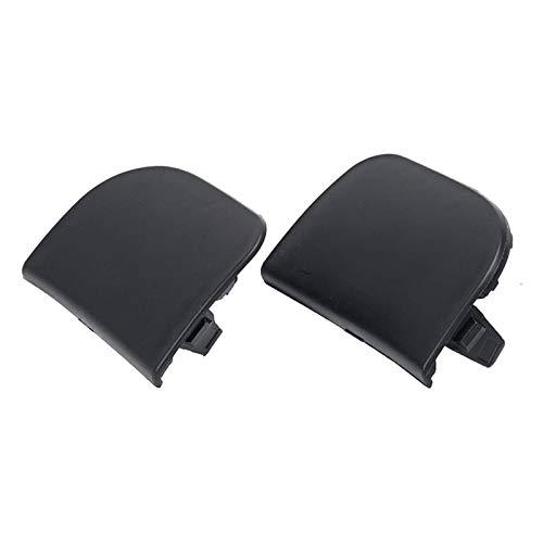 HUILING Tapa de gancho de remolque para parachoques delantero, para Toyota Prius 2012 2013 2014 2015 52128-47903 52127-47903 (color negro)