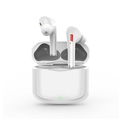 Auriculares Bluetooth 5.1, Auriculares Inalámbricos Deportivos, Auriculares Internos Sonido Estéreo 3D, IPX7 Impermeable Auriculares con Cancelación de Ruido para Android e iOS