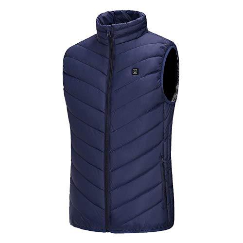 Weier. Ben elektrische vest, buitenverwarming, USB-verwarming, winterwarm vest, mannelijk camping wandelen jachtjas warm te houden -L_Australië