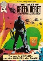 The tales of green beret (Blackthorne's comic-strip preserves)