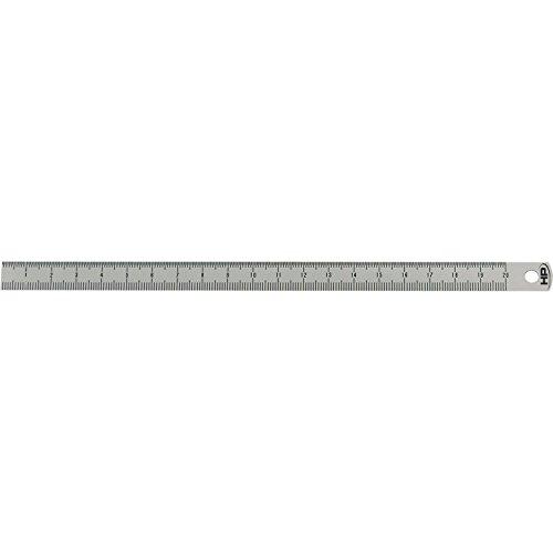 Helios Preisser Stahlmaßstab biegsam EG-Prüfzeichen Genauigkeit II, 150 x 13 x 0.5 mm, 0460221