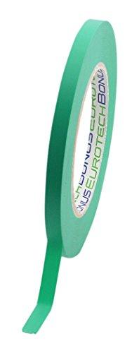 BONUS Eurotech 1BL23.32.0009/055A # fijne lijnband, lijm op basis van gemodificeerde rubber, PVC zacht, 130 graden C, lengte 55 m x breedte 9 mm x dikte 0,13 mm, groen