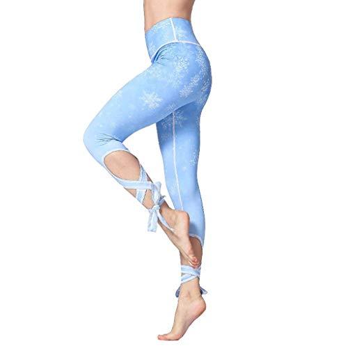 Hoge Taille Bedrukt Yoga Broek Leggings,Verband Ademend Snel Rijden Training Joggingbroek Voor Dames Sportschool