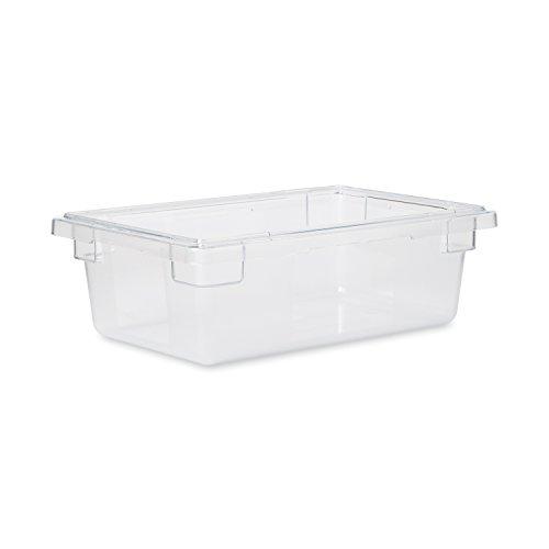 고무마이드 상용 제품 식품 저장 상자 | 음식점 | 키친 | 카페테리아 3.5갤런 클리어(FG330900CLR)