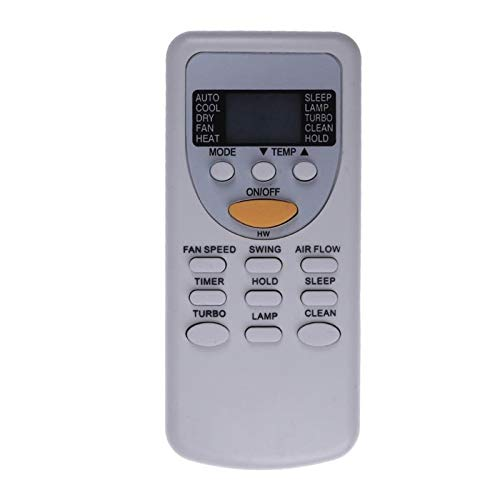 Replacement Remote Control for TV/AC Universal AC RC Air Conditioner Remote Control Replacement for Rheem for Chigo ZH/JT-03 Remote Control - Gray