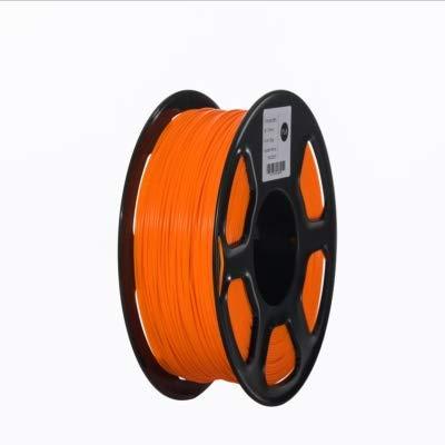 ABS Filament 3D Printer Filament 1.75mm 1kg Printing Materials 3D Plastic Printing Filament toughness (Color : Yellow) JIAJIAFUDR (Color : Orange)