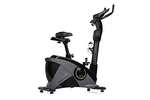 Zipro Erwachsene Magnetisches Fitnessbike Heimtrainer iConsole Rook bis 150kg, Schwarz, One Size, einheitsgröße