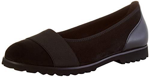 Gabor Shoes Damen Casual Geschlossene Ballerinas, Schwarz (Schwarz 47), 38.5 EU