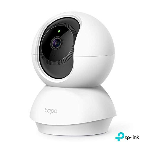 TP-Link Cámara de Seguridad Wi-Fi Inalambrica HD1080P IP Cámaras Sistema de Camaras de Vigilancia para Bebé, Casa, Compatible con Alexa y GoogleHome, Acceso Remoto por Android/iOS App(Tapo C200)
