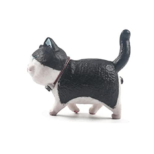 LIANYG Precioso imán de Nevera de la Serie de Gatos imán de Gato 3D decoración del hogar Regalo Creativo Pegatina de Nevera de Animales