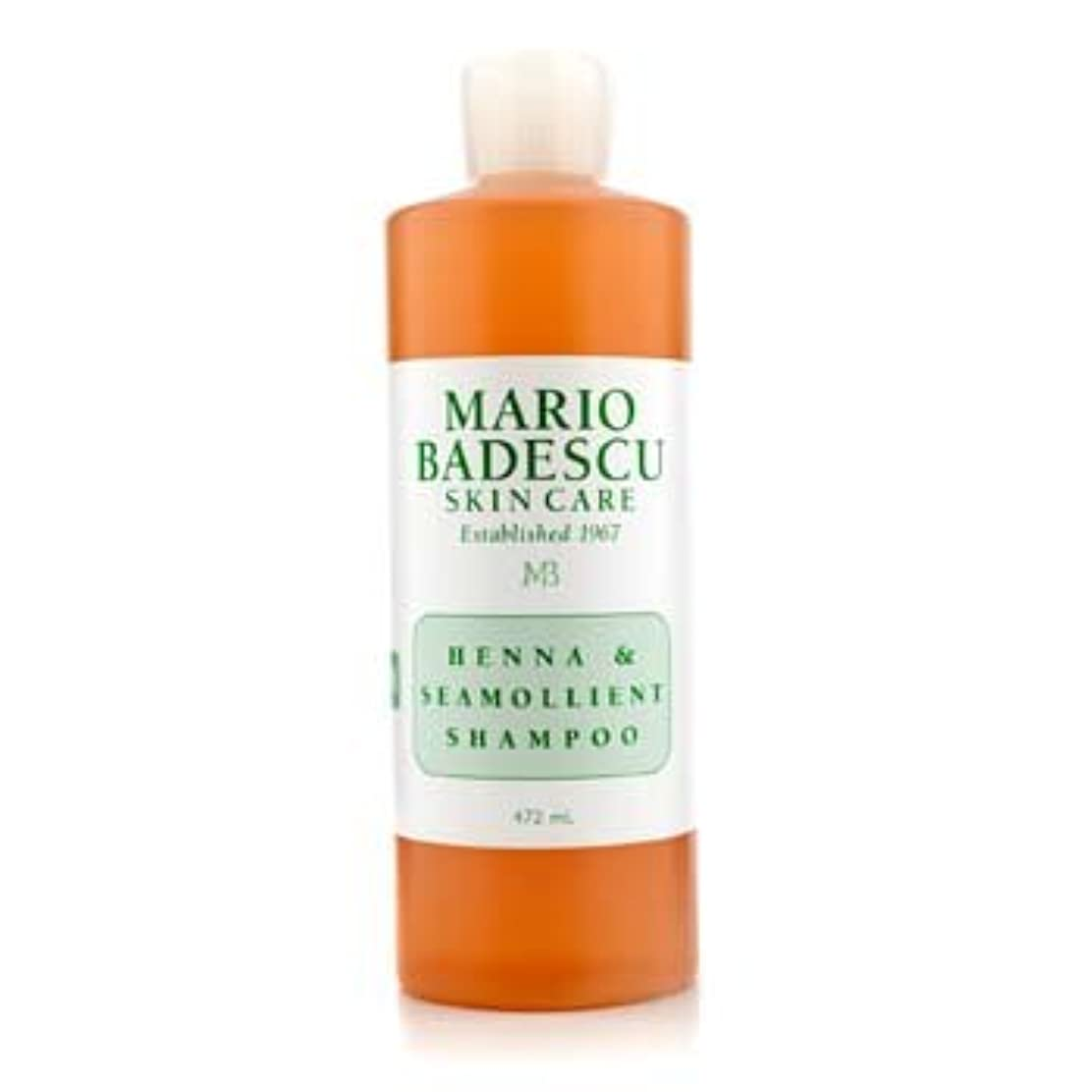 リム上に同行する[Mario Badescu] Henna & Seamollient Shampoo (For All Hair Types) 472ml/16oz