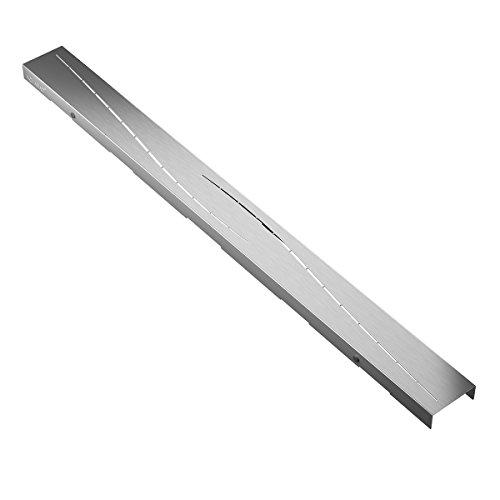 """Abdeckung für Duschrinne AQUABAD® SDS Pro (Rost einzeln!) / Länge: 80 cm, aus Edelstahl/Design: """"MODERN"""""""