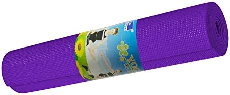 Skyland Unisex Adult Yoga Mat Em-9308-p - Purple, L 61 X W 13 X 13 cm