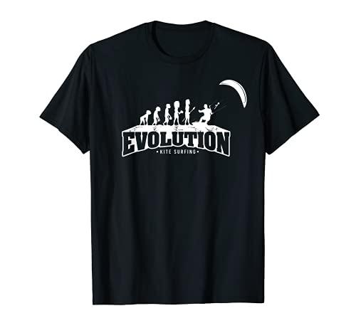 Divertido regalo de kitesurf – Cometa Surfing Evolution embarque Camiseta