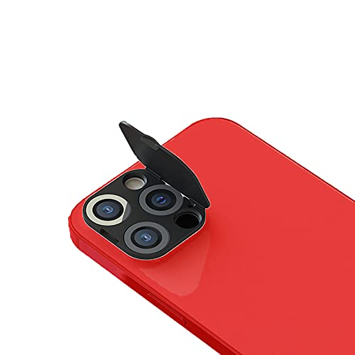 Phone Camera Lens Cover Compatible with iPhone 12Pro Max, Camera Lens Protector to Protect Your Privacy and Security,Strong Adhesive