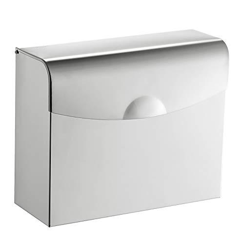 aoory Papierhandtuchspender für gewerbliche Toilettenpapierspender, Wandhalterung, Papierhandtuchhalter