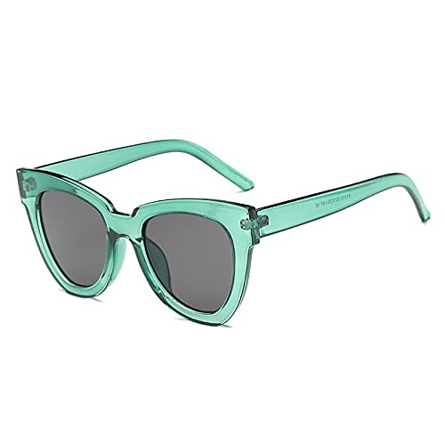 AMFG Ladies Fashion Big Frame Gafas de sol Trend Street Street Ocean Film Gafas de sol Hombres (Color : A)