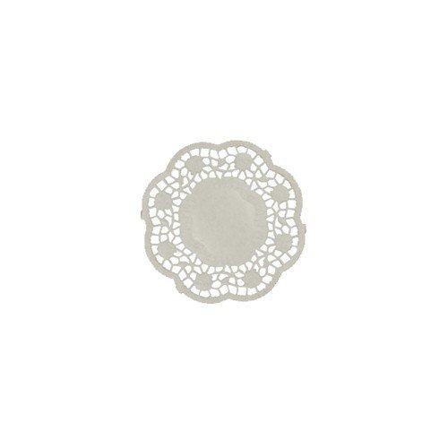 1000 Teller- und Tassendeckchen rund Ø 9 cm weiss