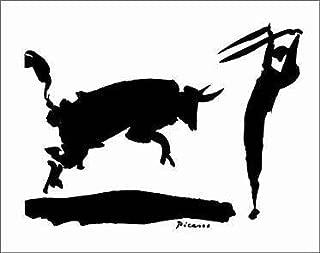 Pablo Picasso - Bullfight III - Picador 28 x 22