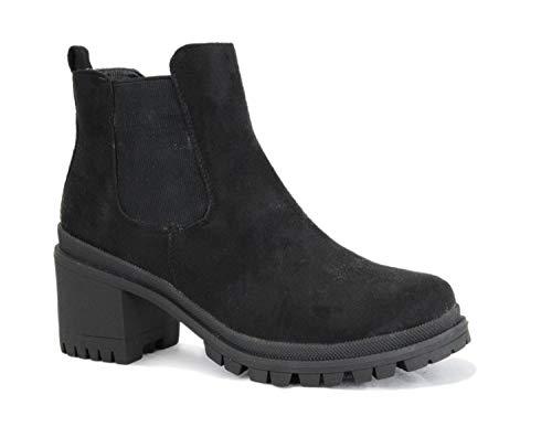Irisaa Chelsea Ankle Boots Dameslaarzen met hak