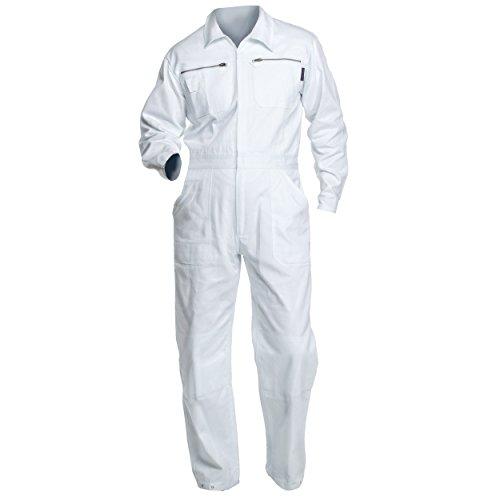 Charlie Barato® Maleroverall - waschfester Overall, robuster Arbeitsanzug weiß (54)
