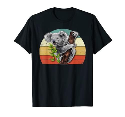 Regalo para el día de nacimiento de Koala Love-r para papá y niña Camiseta